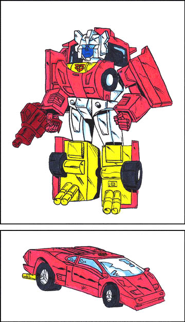 Firecracker (Robot and Car Modes)