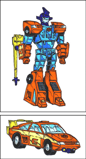 Gobots (Robot and Car Modes)