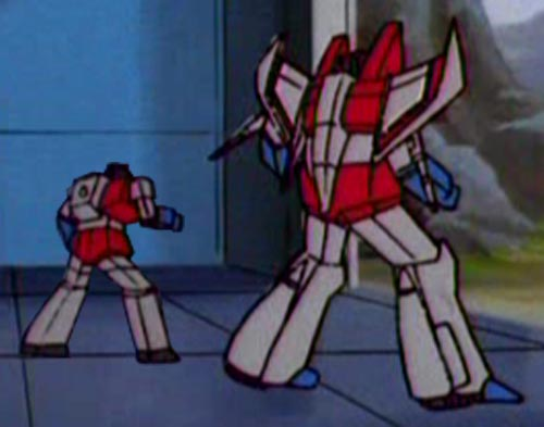 "Pictureshow and Starscream (from ""More Than Meets the Eye"" part 2)"