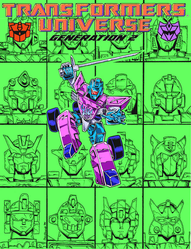 Transformers Universe: Generation 2 (Front Cover)