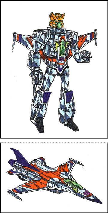 Windrazor (Robot and Fighter Jet Modes)